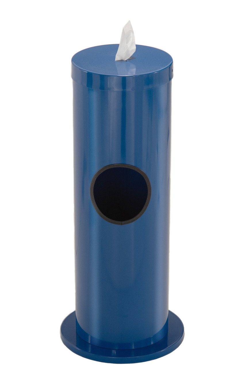 2 Gallon Floor Standing Antibacterial Wipes Dispenser F1029 MIDNIGHT BLUE