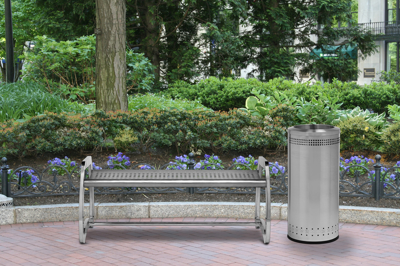 with Matching Precision Series Trash Can