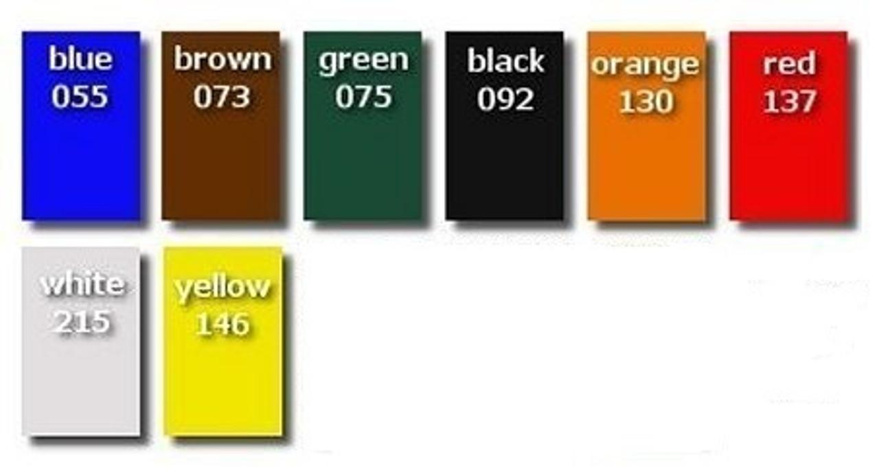 Plastic Liner Colors