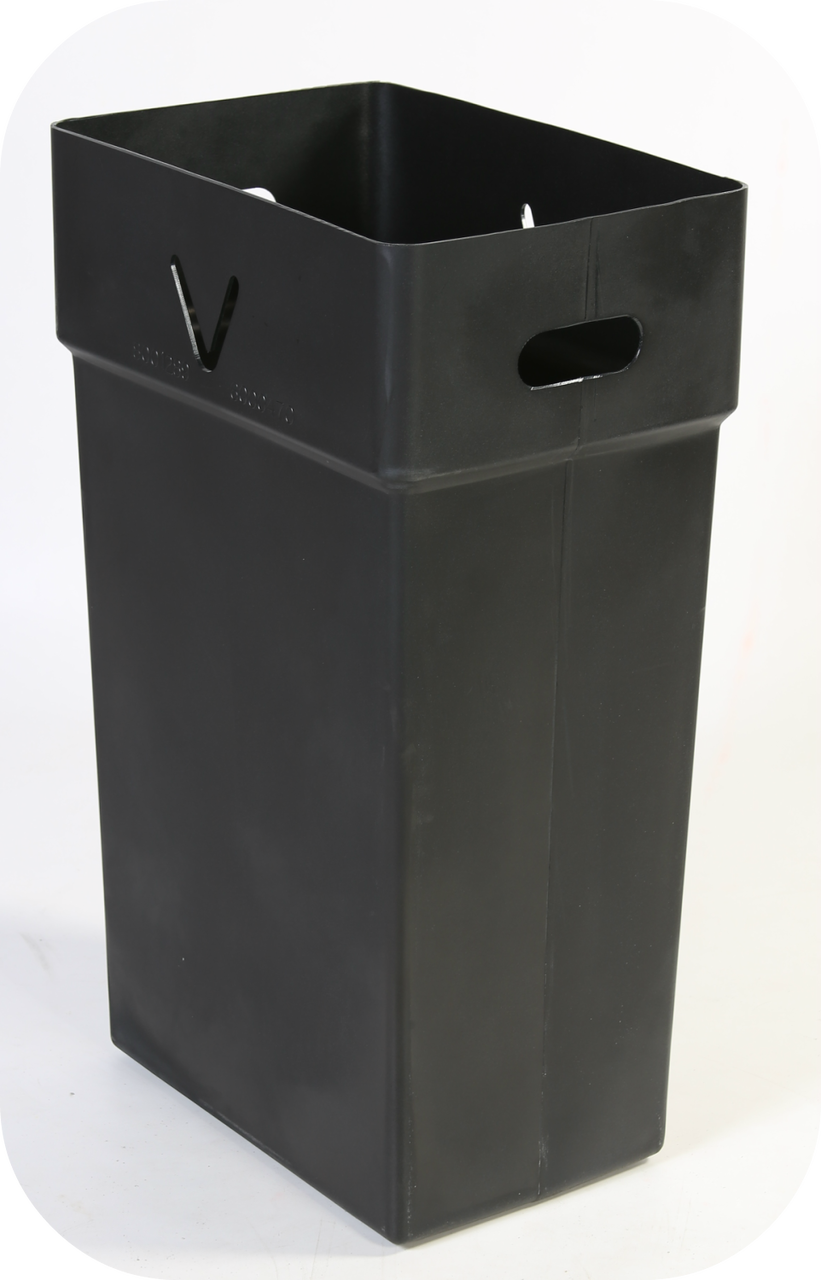 "39 Gallon Hard Plastic Inner Liner for Contour Windshield Service Center (8001289) 18.5""W x 12""D x 31""H"