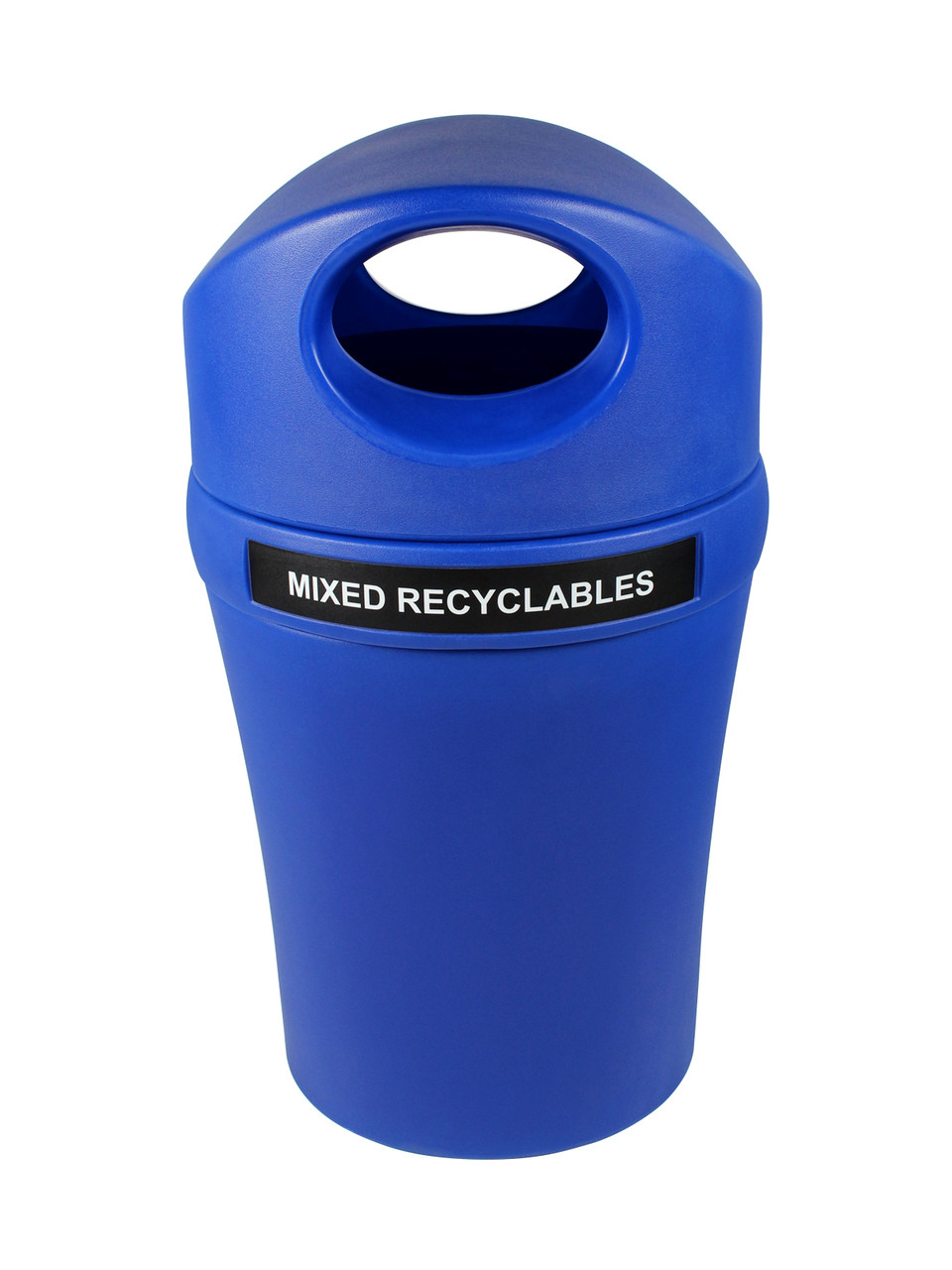 Mixed Recyclables-Blue/Blue