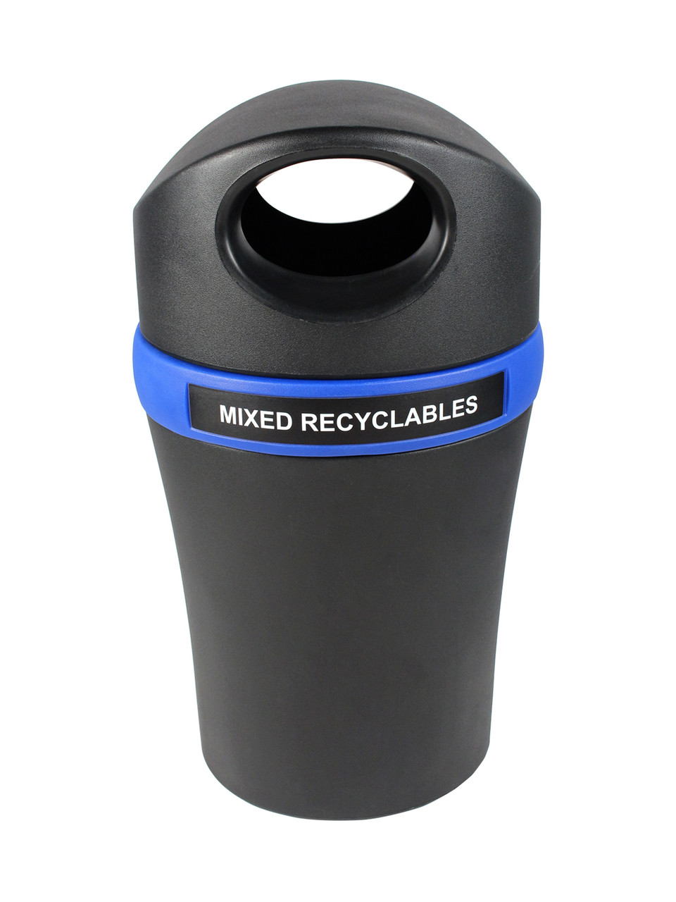 Mixed Recyclables-Black/Blue