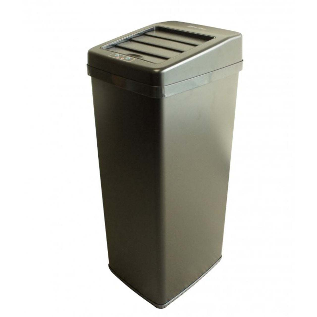 14 Gallon iTouchless Trash Can Black IT14SB
