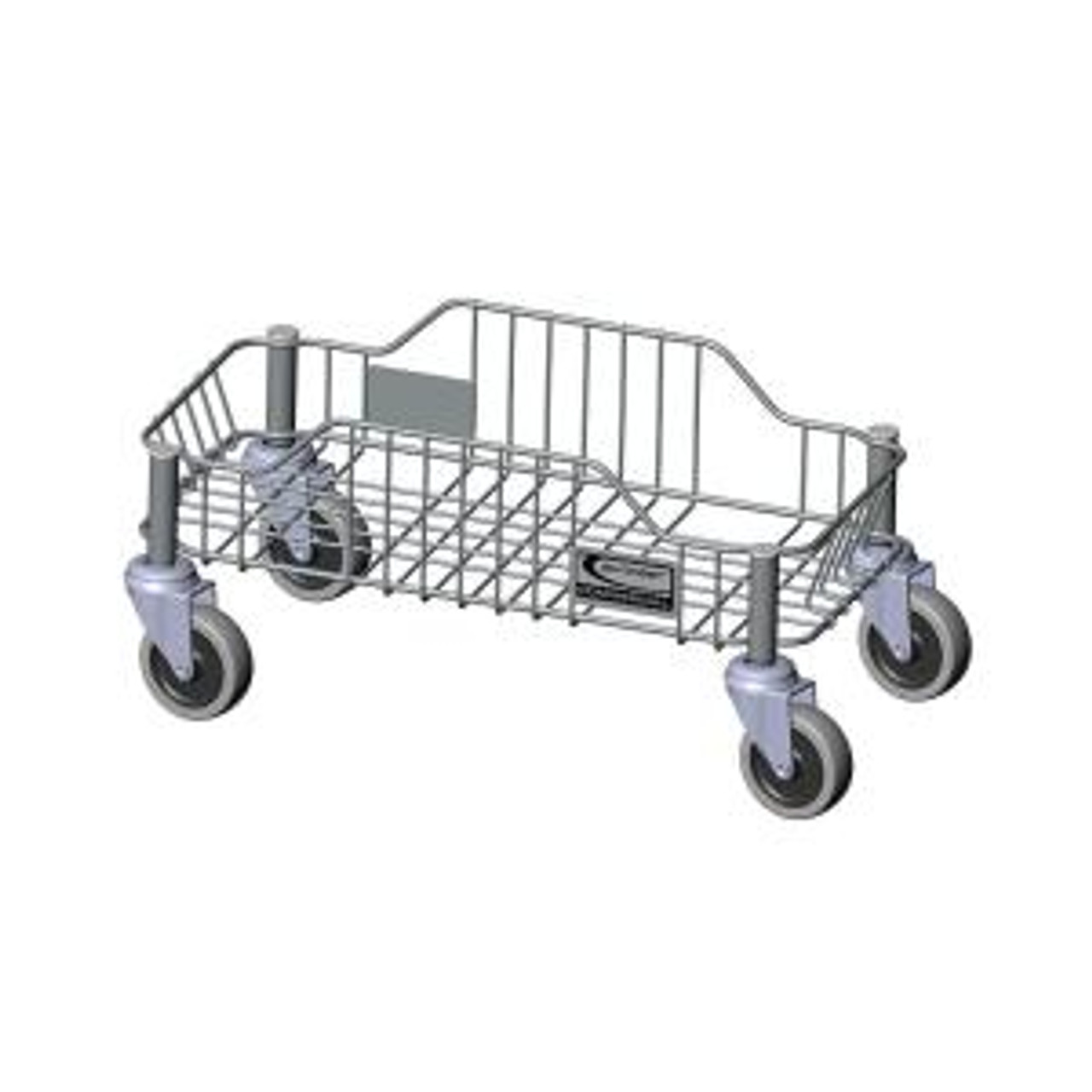 Optional Stainless Steel Basket Dolly