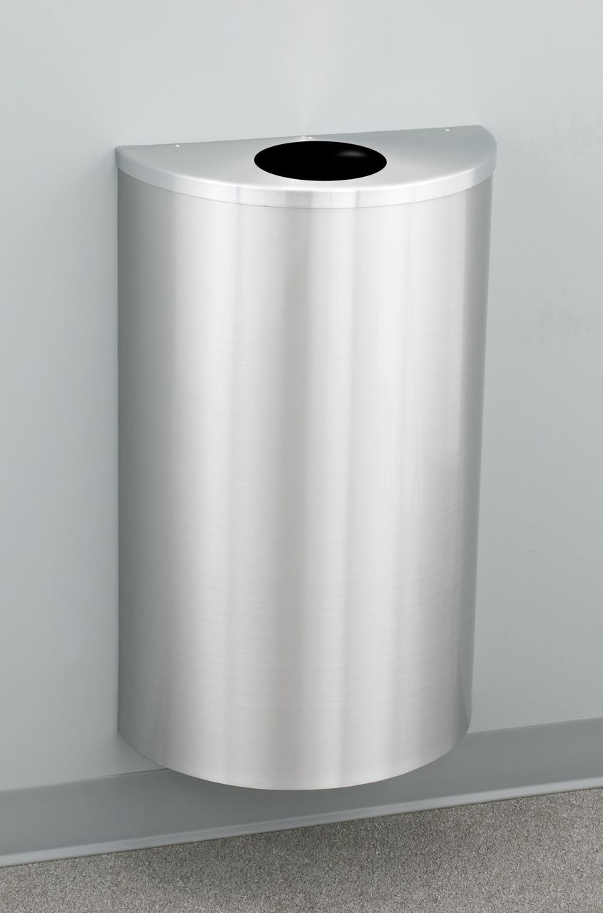 Wall Mounted with Wall Mount Kit (TRASH CAN NOT INCLUDED)