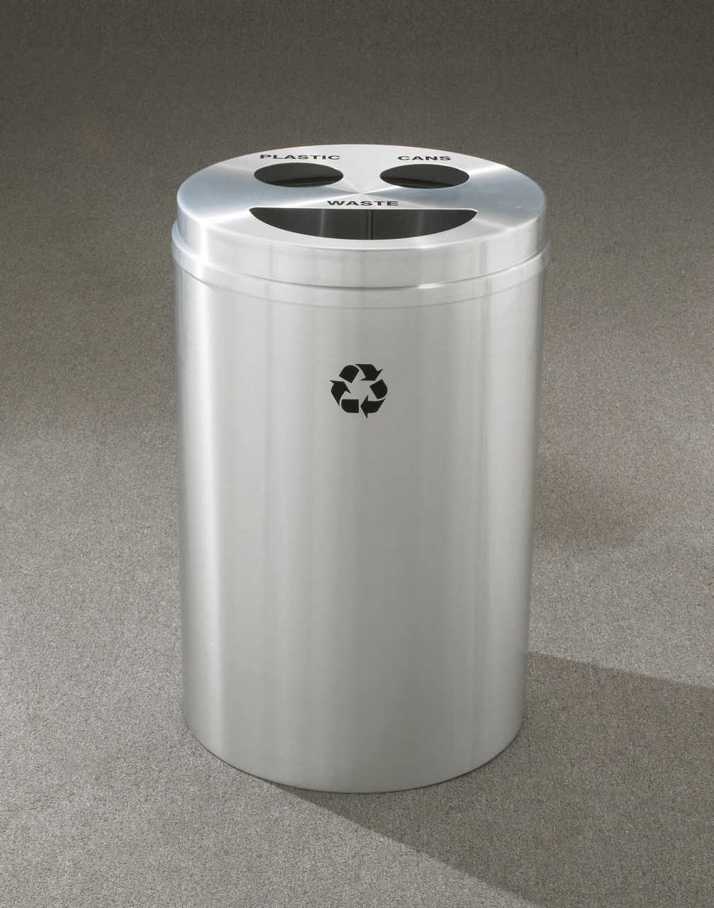 33 Gallon Glaro 3 in 1 Recycle Bin BCT-2032 (29 Colors, 4 Lid Styles)