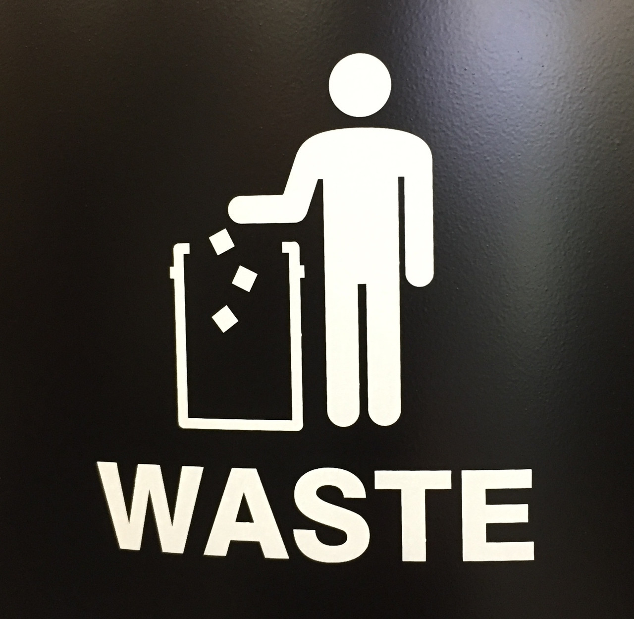 Waste with Tidy Man Logo