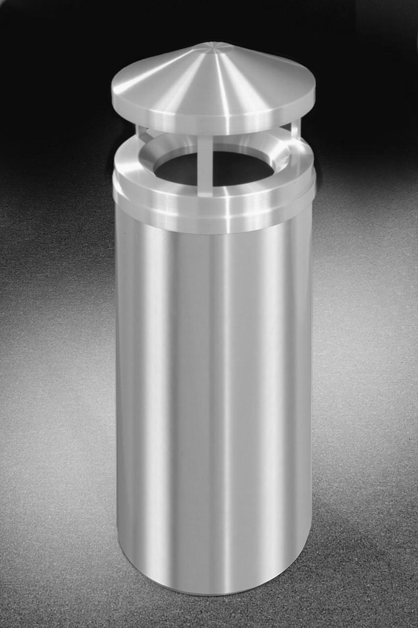16 Gallon Satin Aluminum