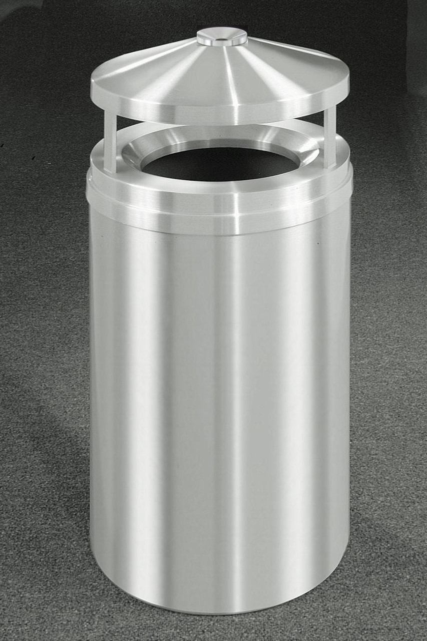 Glaro H2002 33 Gallon Canopy Top with Built-in Ashtray Satin Aluminum