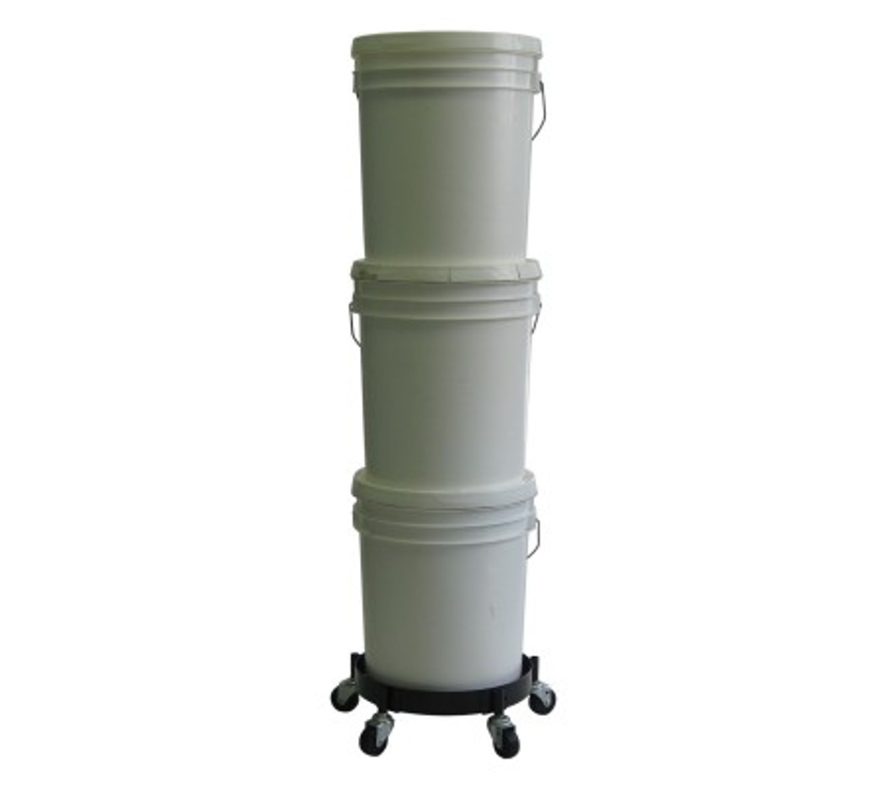 Bucket Dolly for 5 Gallon Pails and Buckets 455 BLS (BUCKETS NOT INCLUDED)