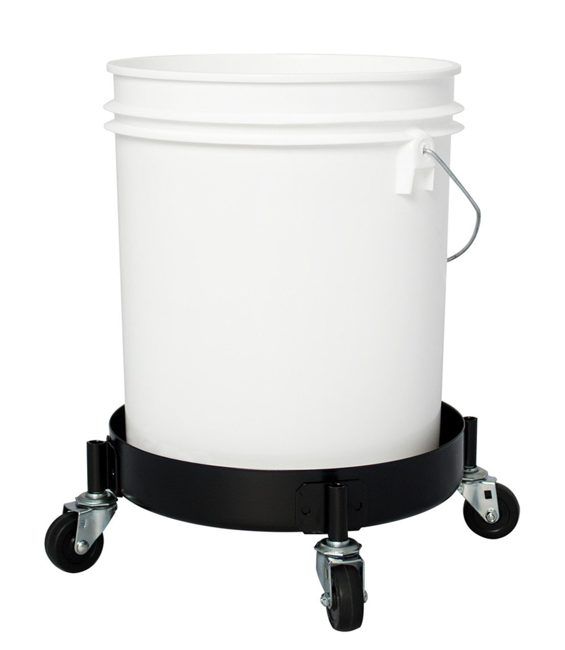 In Use with a 5 Gallon Plastic Bucket (BUCKET NOT INCLUDED)