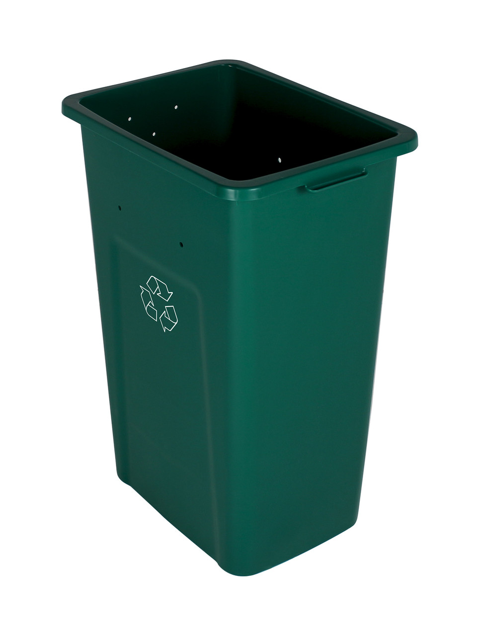 32 Gallon Extra Large Home & Office Recycling Bin Green