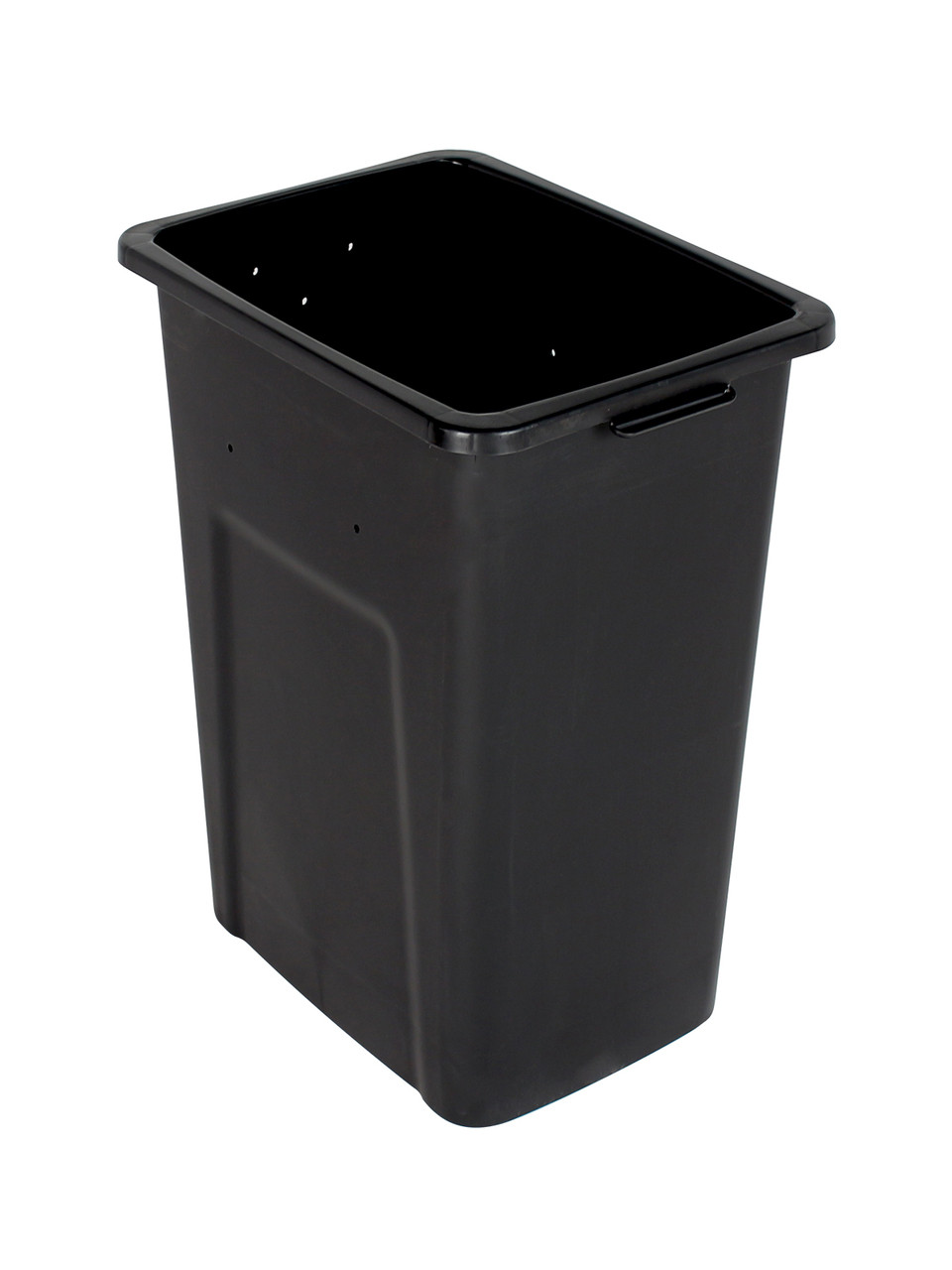 28 Gallon Extra Large Home & Office Trash Can Black