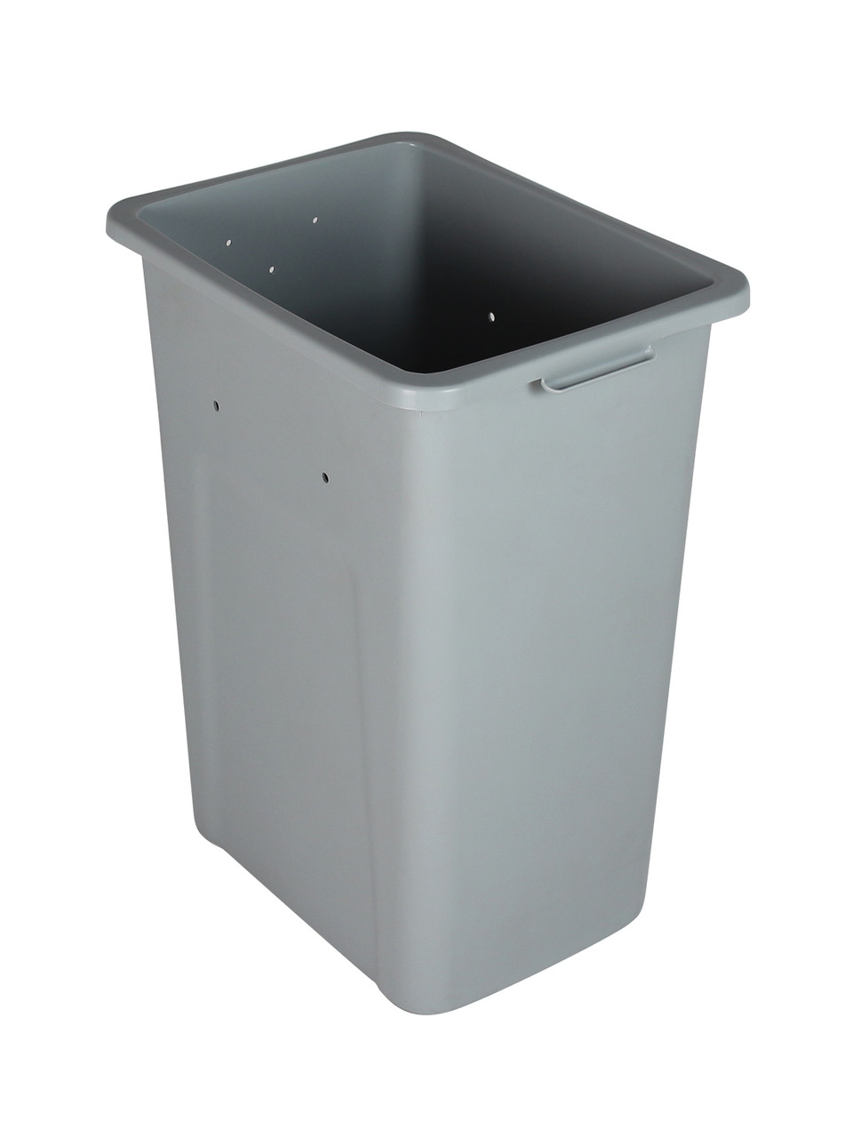 28 Gallon Extra Large Home & Office Trash Can Gray