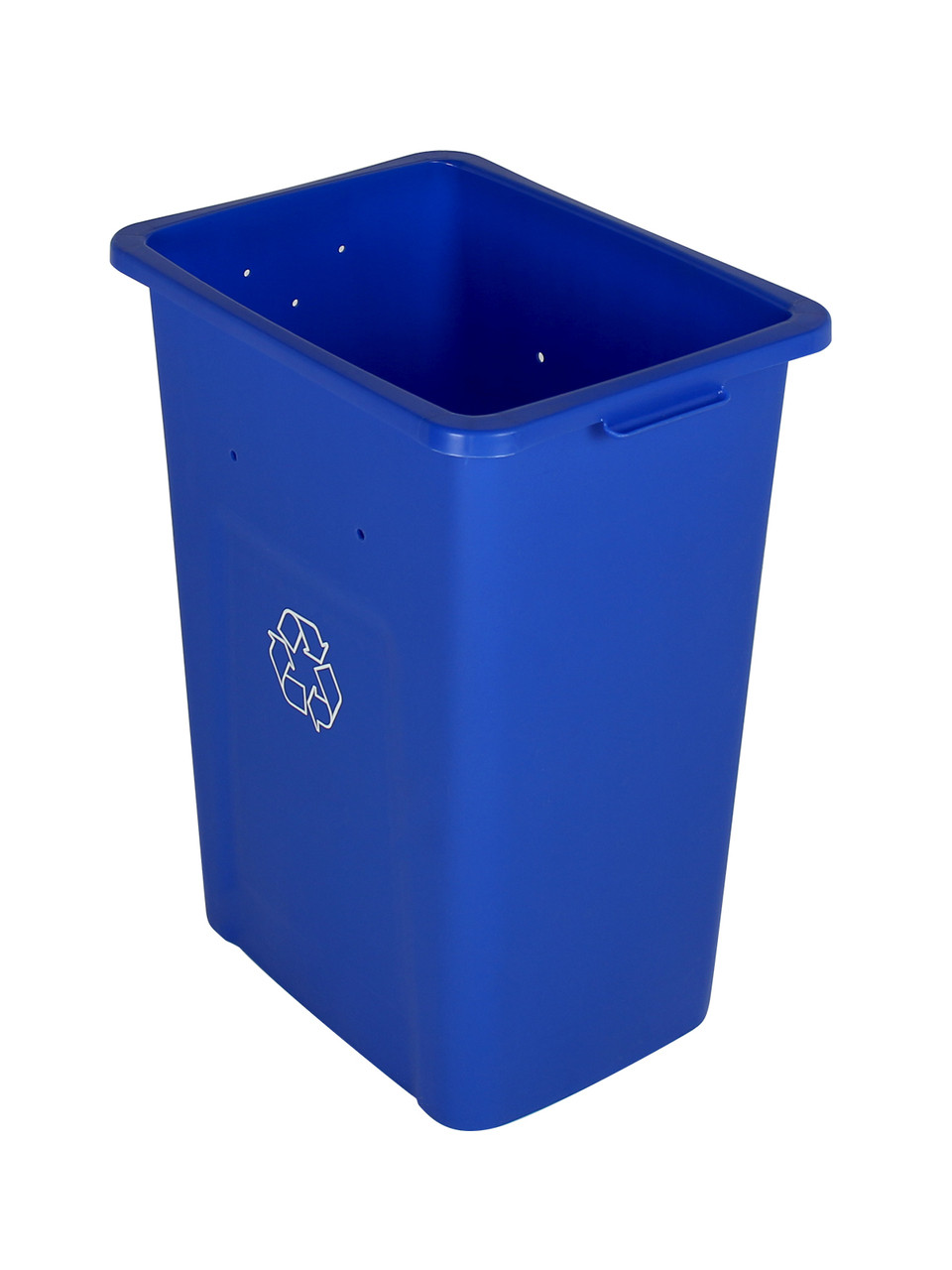 28 Gallon Extra Large Home & Office Recycling Bin Blue