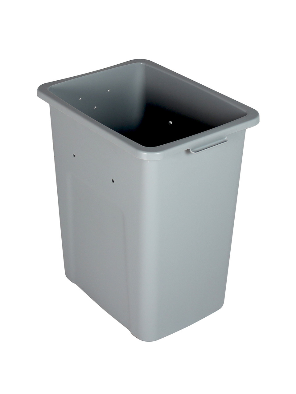 24 Gallon Extra Large Home & Office Trash Can Gray