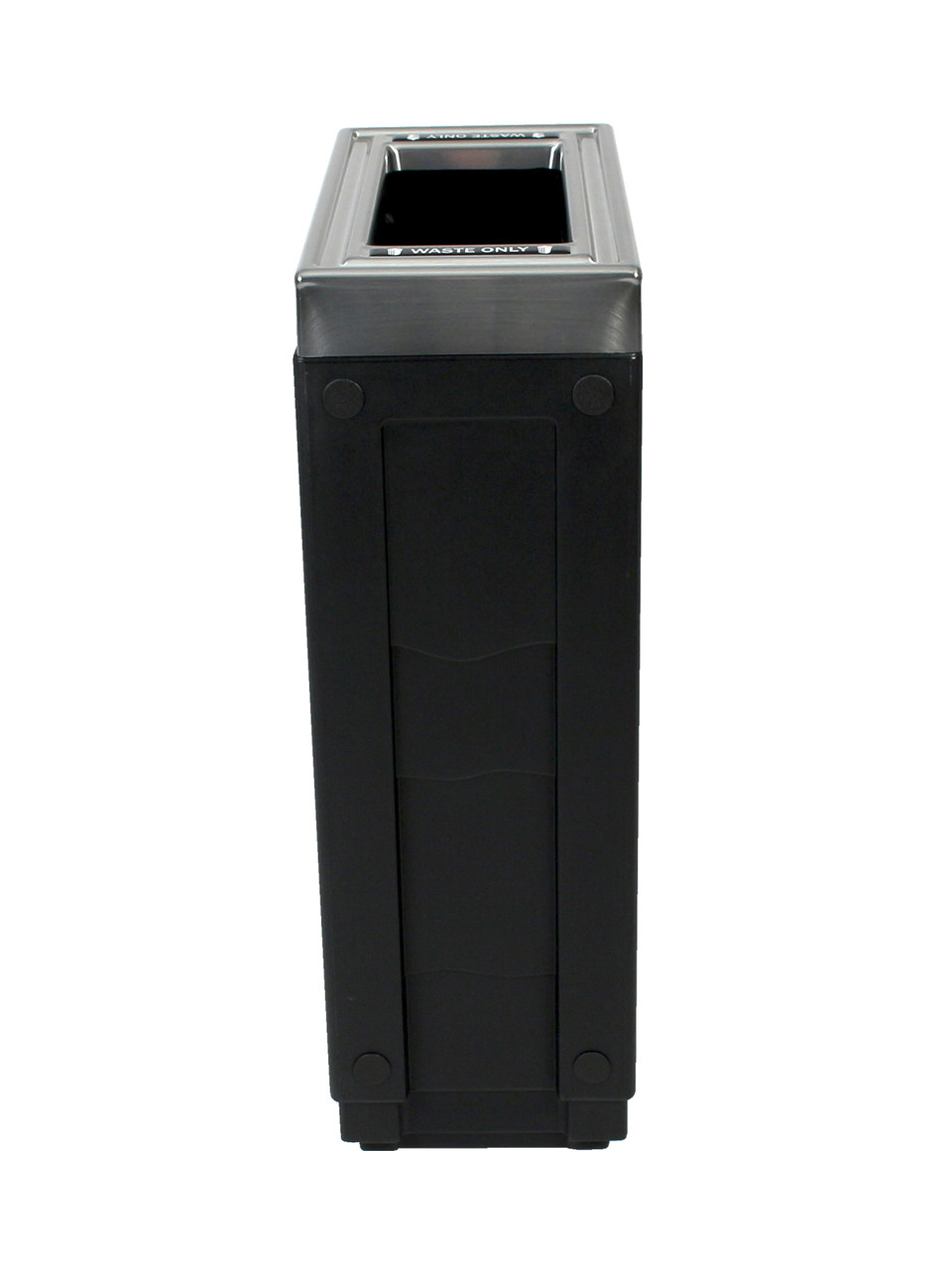 23 Gallon Evolve Cube Slim Skinny Trash Can 101261