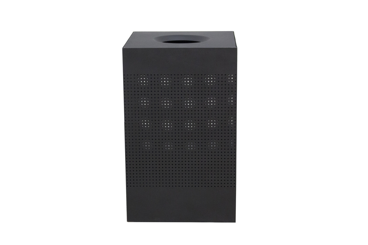 40 Gallon The Celestial CL40-BK Mesh Indoor Trash Can Black