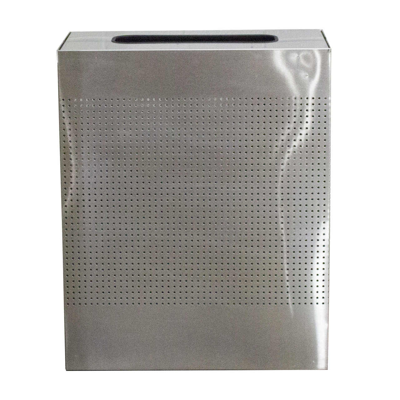 40 Gal. The Celestial CLRC40-SS Mesh Rectangular Trash Can Stainless Steel