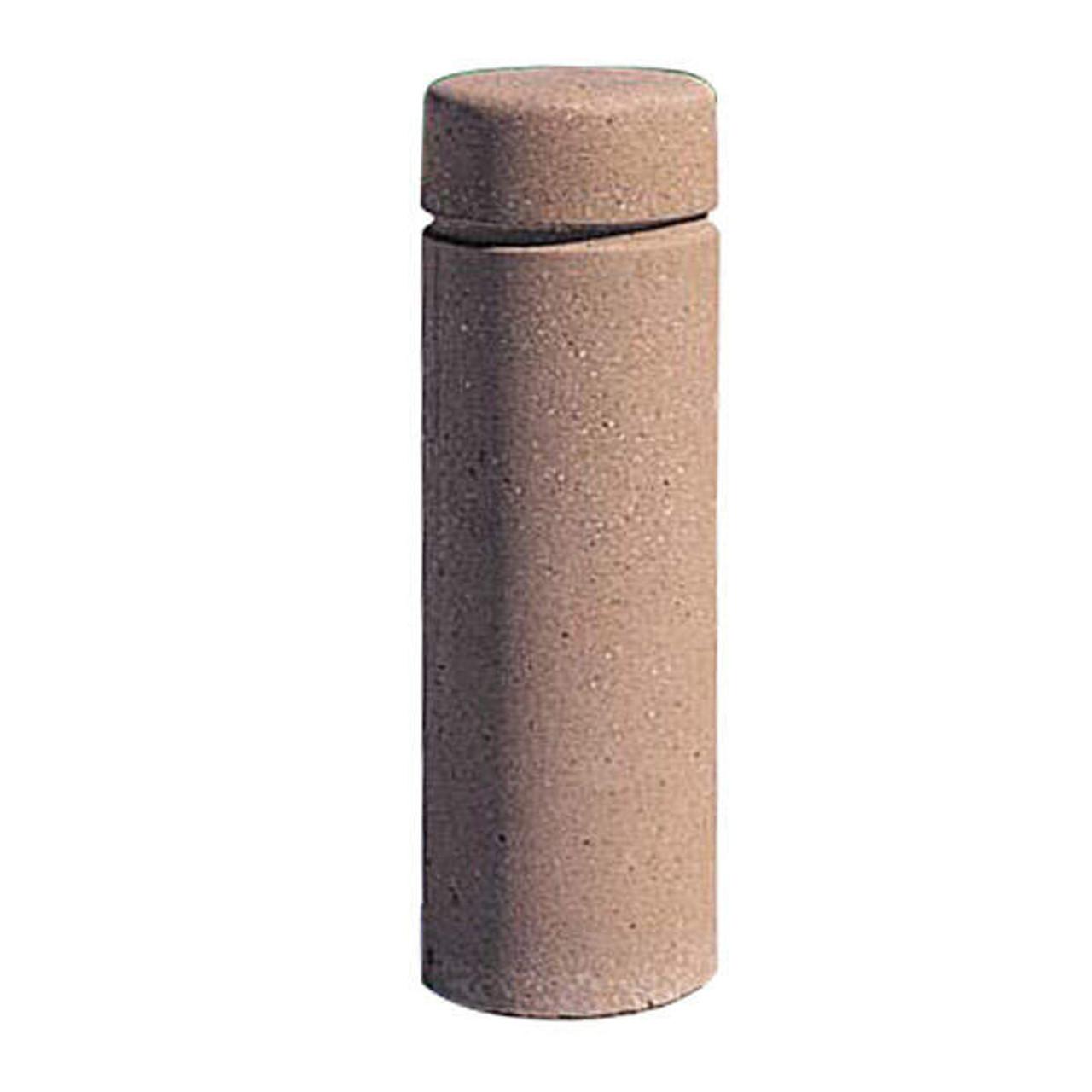 Concrete Bollard Safety Barrier 12 x 36 TF6020 Weatherstone Sand