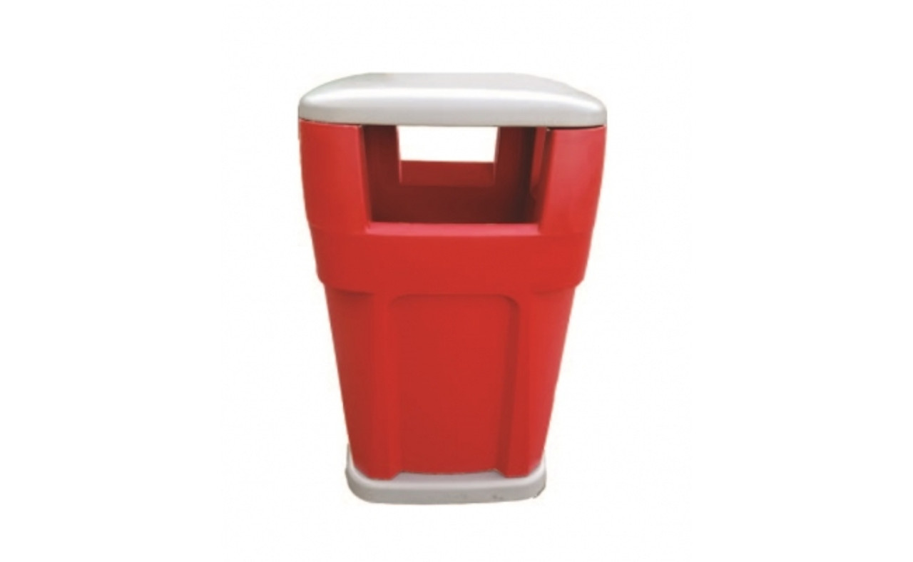 65 Gallon Heavy Duty Plastic Liftable City Trash Can TF1953