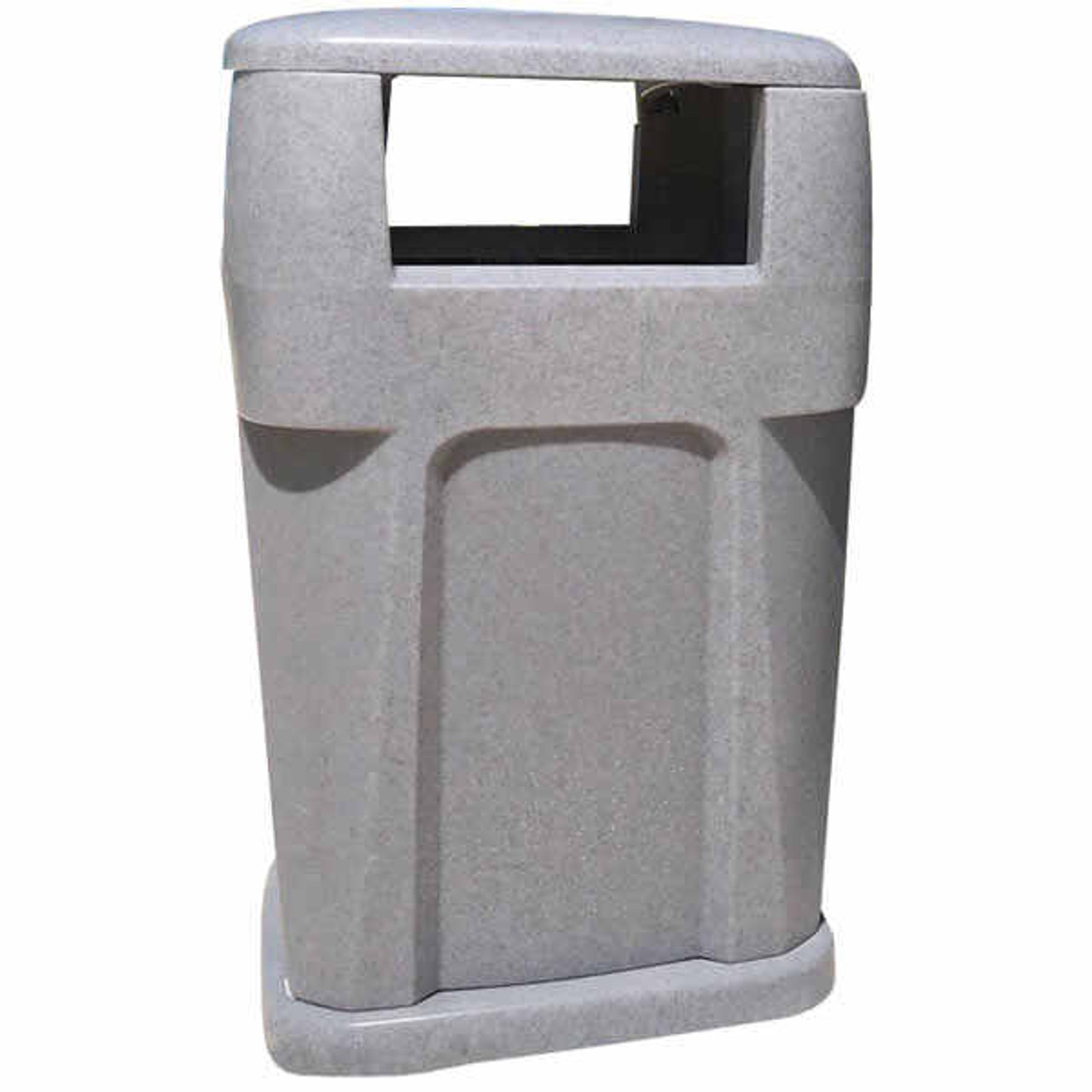 65 Gallon Heavy Duty Plastic Liftable City Trash Can TF1953