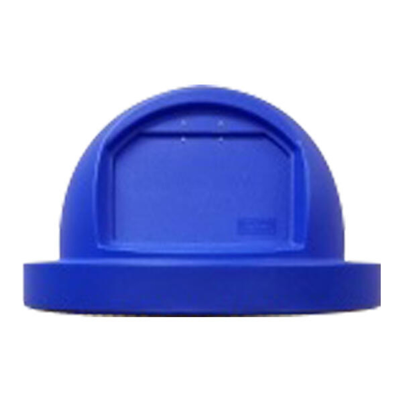 Push Door Trash Can Lid for 55 Gallon Drums and MF3083 BLUE