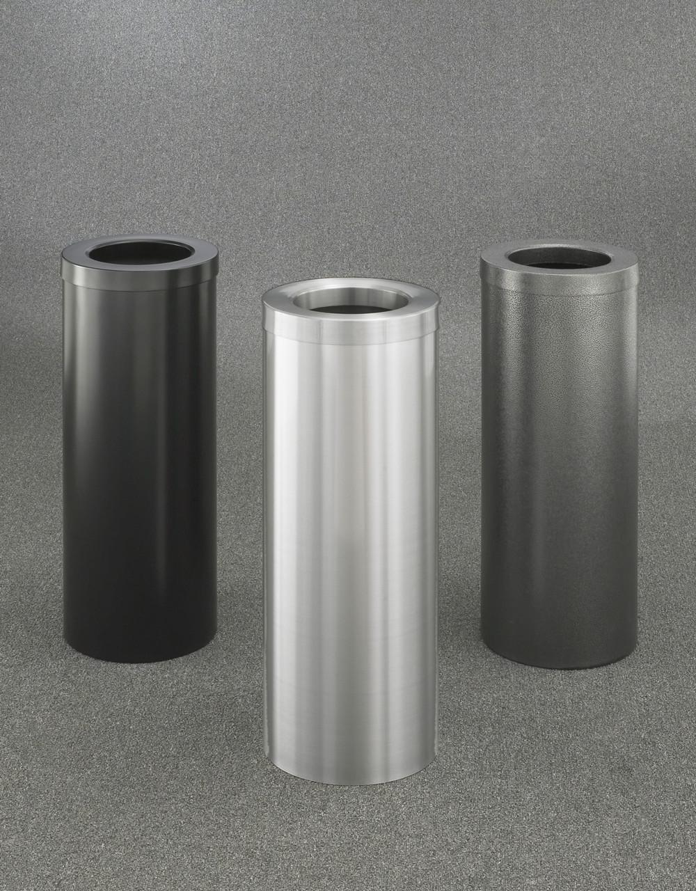 8 Gallon F1024 Funnel Top Glaro Trash Can (30 Colors)