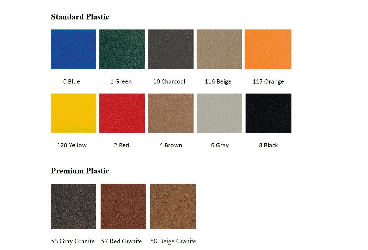 Plastic Lid Colors