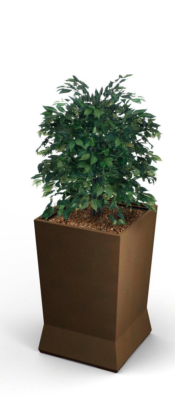 15 x 15 x 20 ModTec Planter Small 724265 Old Bronze