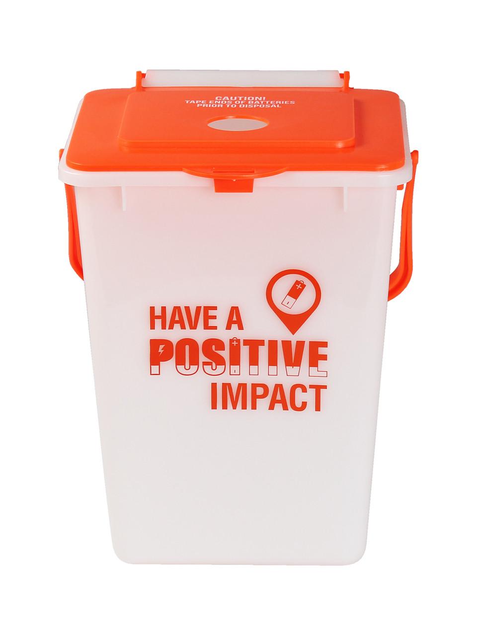 2.25 Gallon Battery Recycler BATBIN2-10886 (Case of 2)