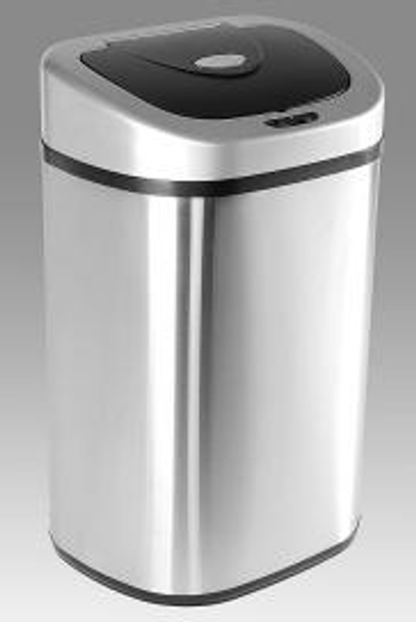 21 Gallon Touchless Kitchen Trash Can Family Size DZT-80-4