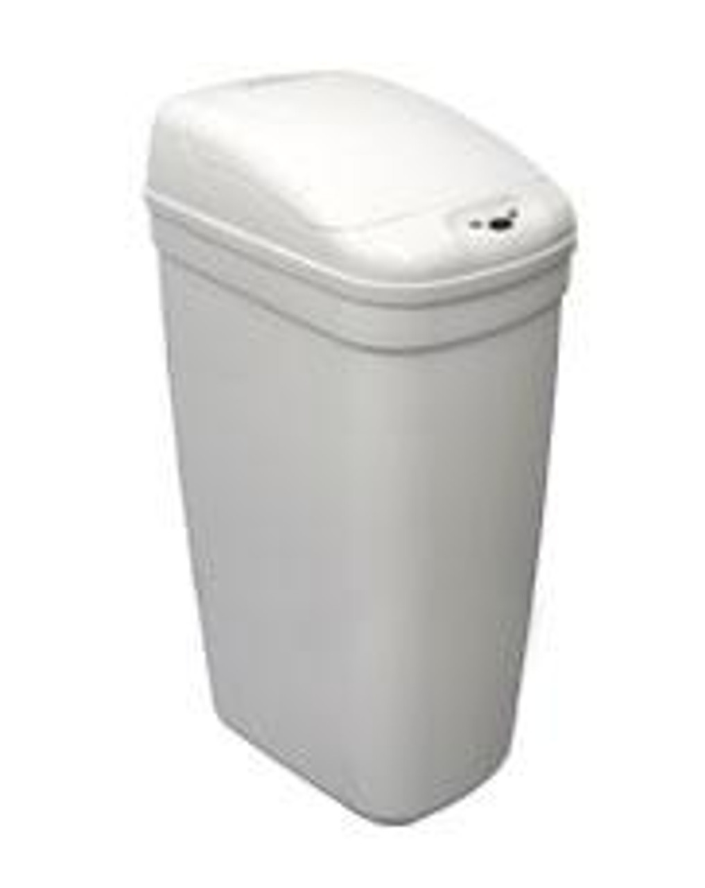 Touchless Automatic Trash Can White 7 Gallon