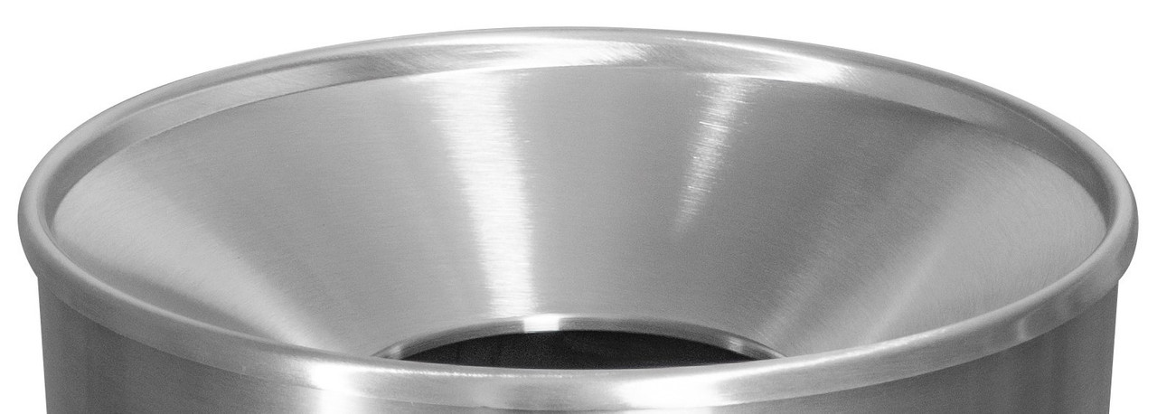 18.25 Inch Stainless Steel Funnel Top LID ONLY 21-008S S/S for WR-33