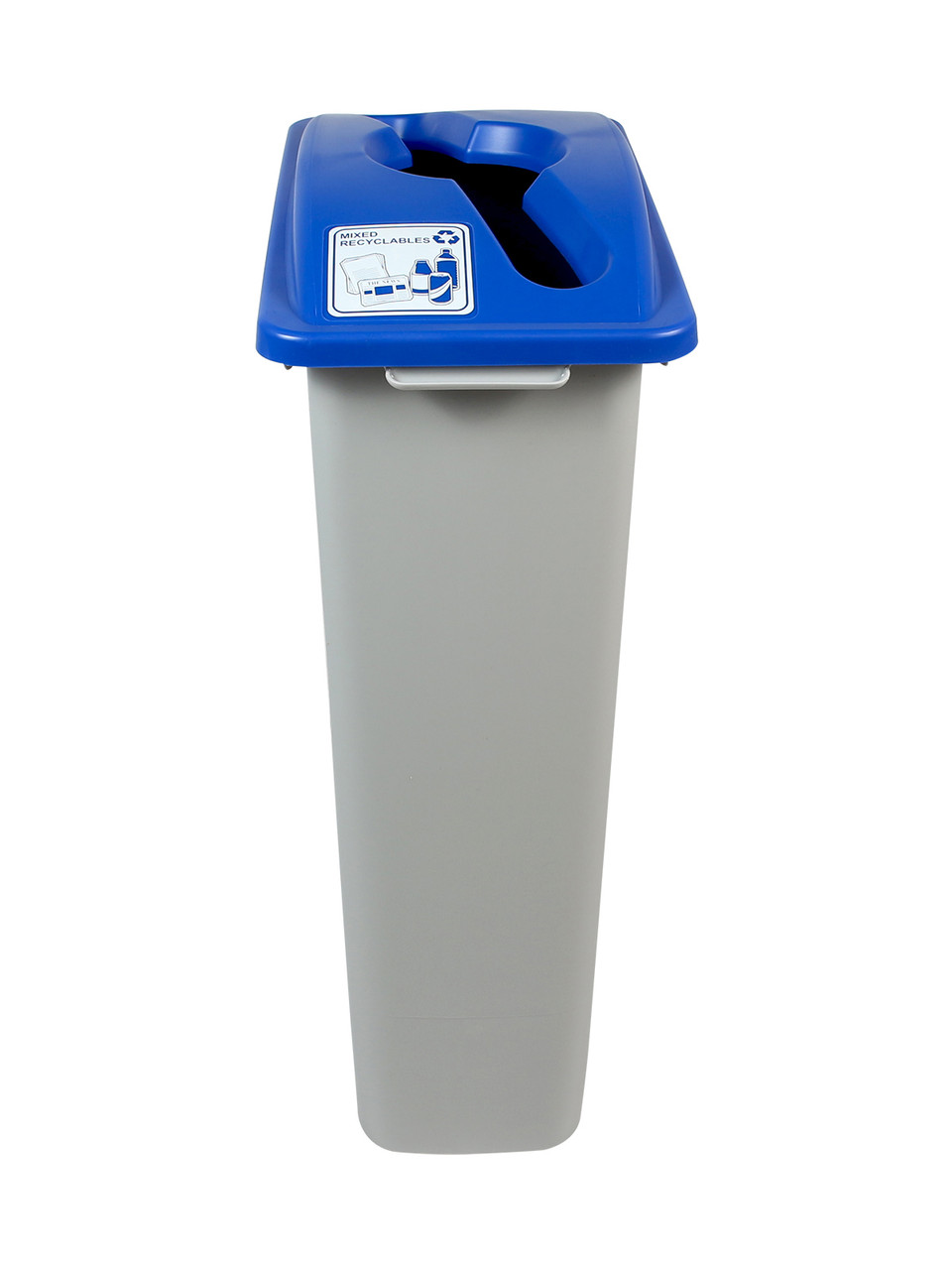 23 Gallon Simple Sort Recycle Bin (Mixed Recyclables)