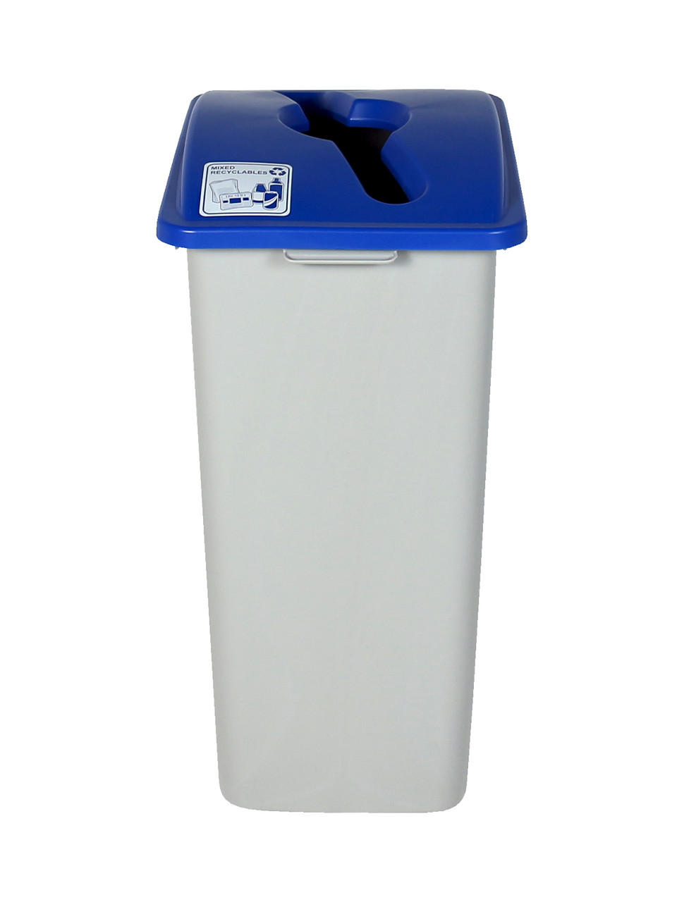 32 Gallon XL Recycling Bin (Mixed Recyclables)