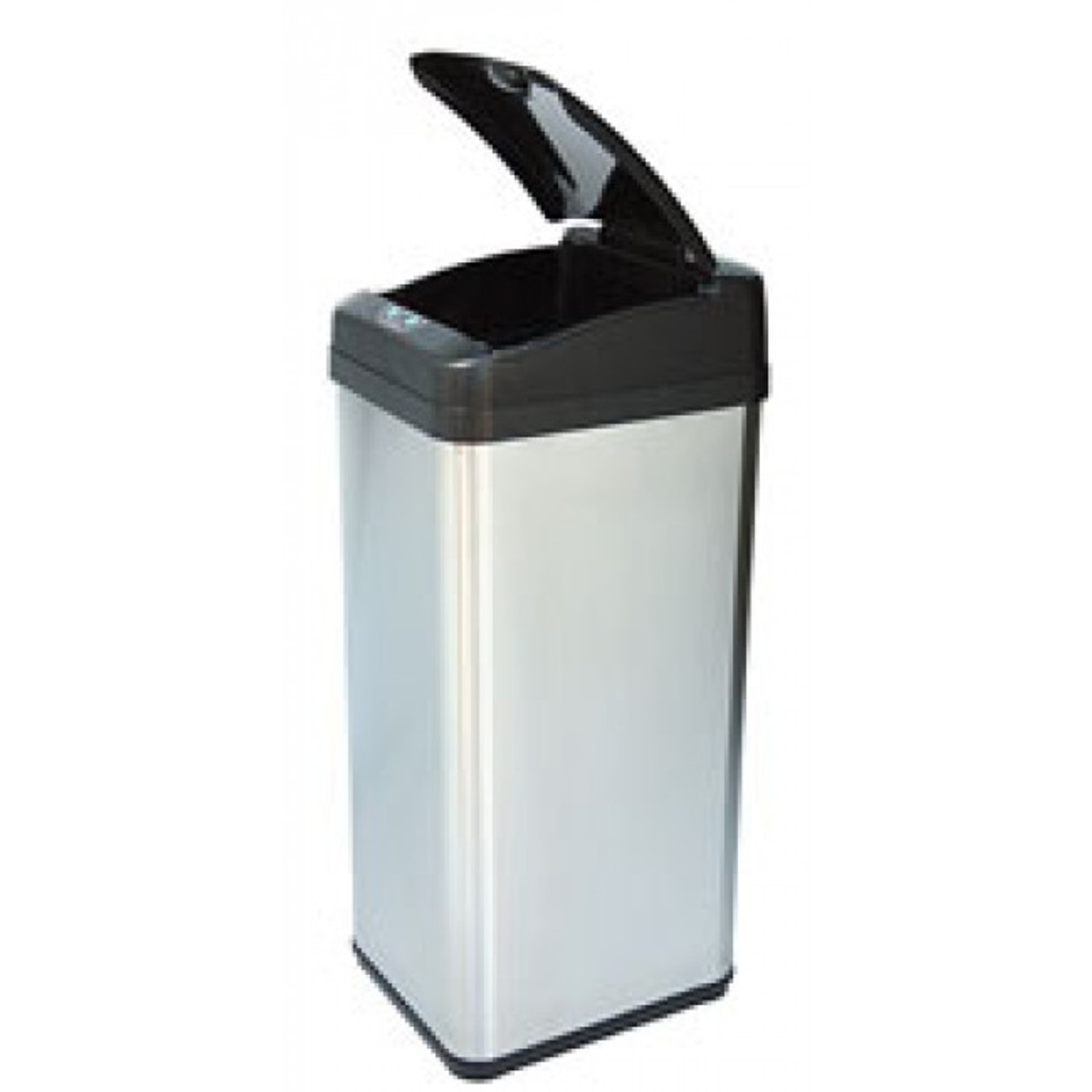 13 Gallon Square Extra Wide Opening Touchless Trash Can IT13MX