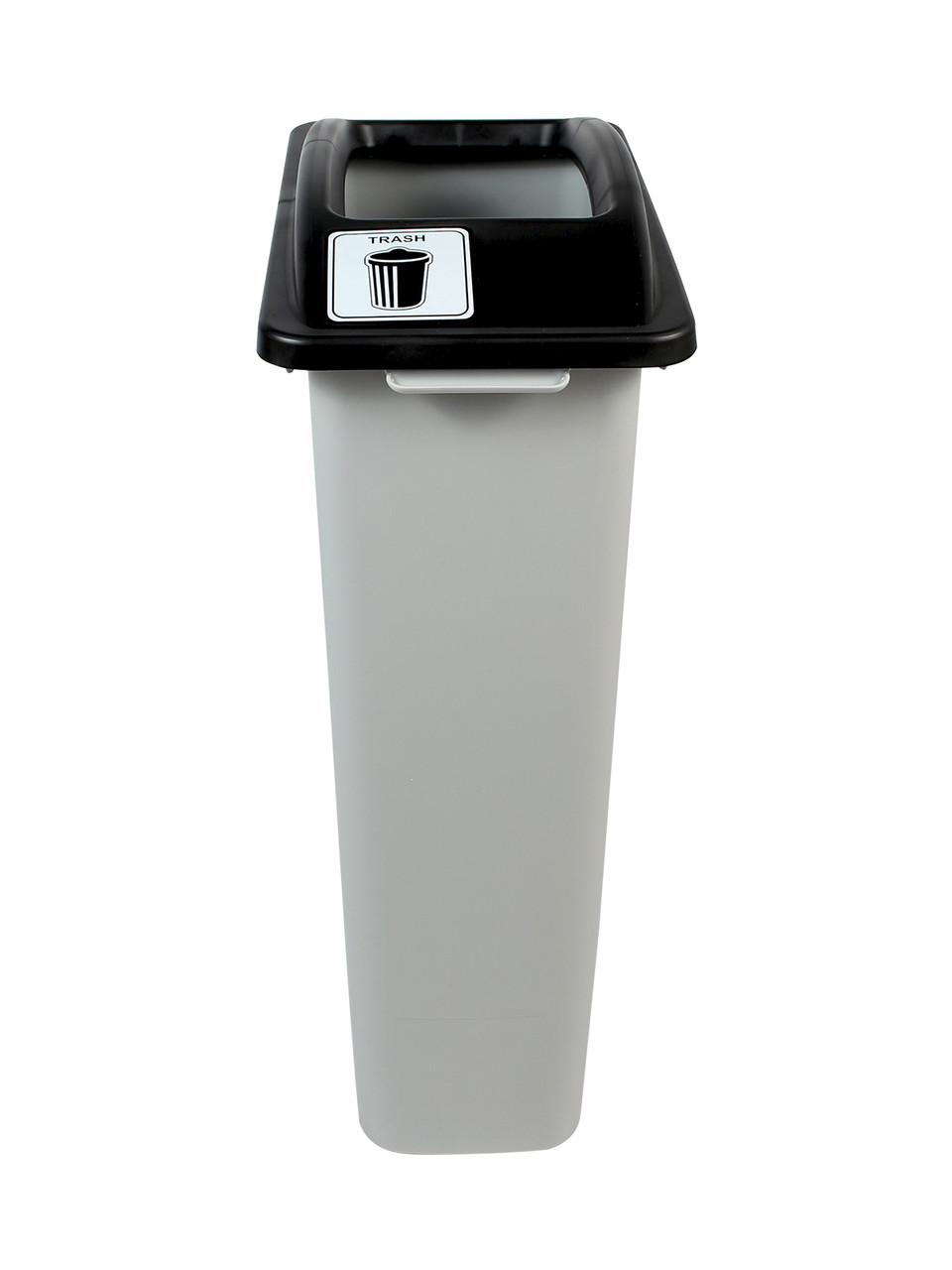 23 Gallon Skinny Simple Sort Trash Can