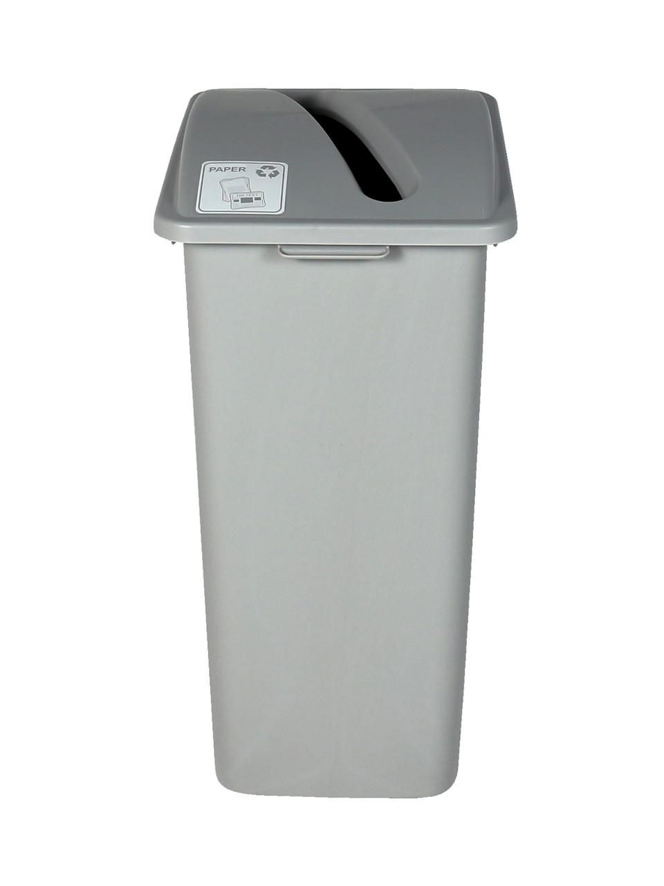 32 Gallon XL Simple Sort Recycling Bin Gray