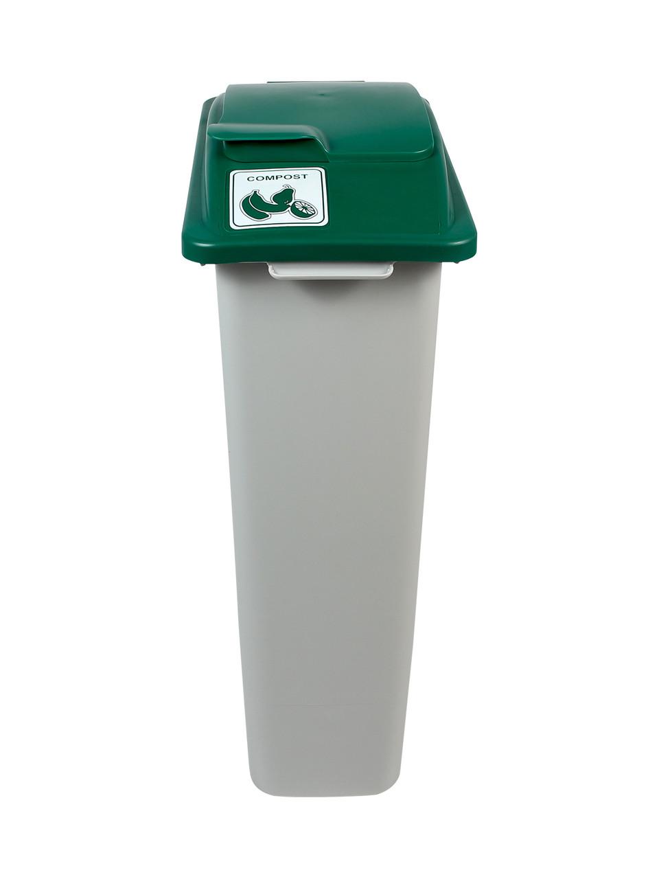 23 Gallon Skinny Simple Sort Compost Bin Lift Top
