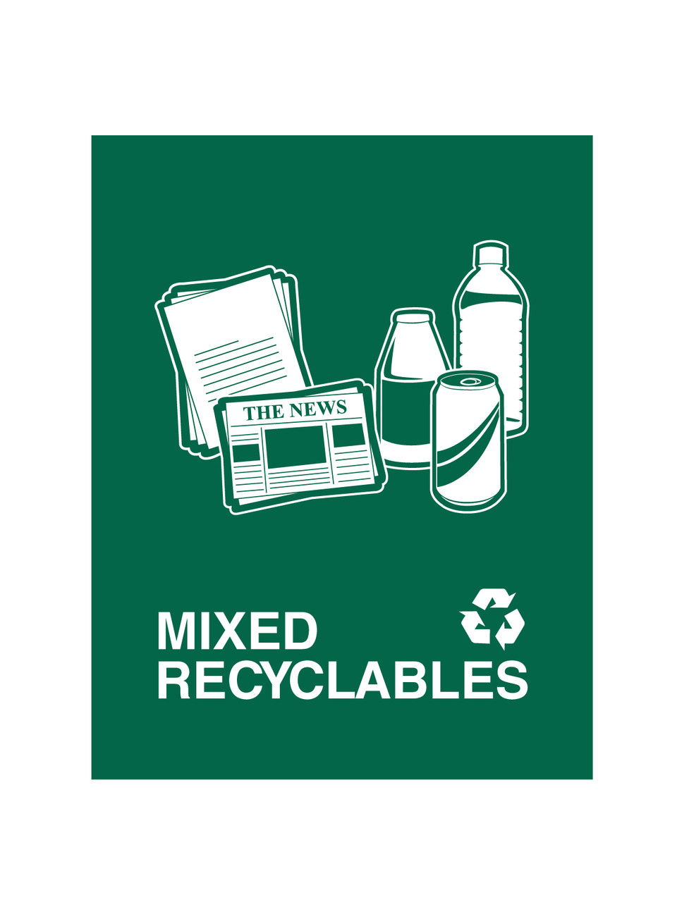 MIXED RECYCLABLES (GREEN)