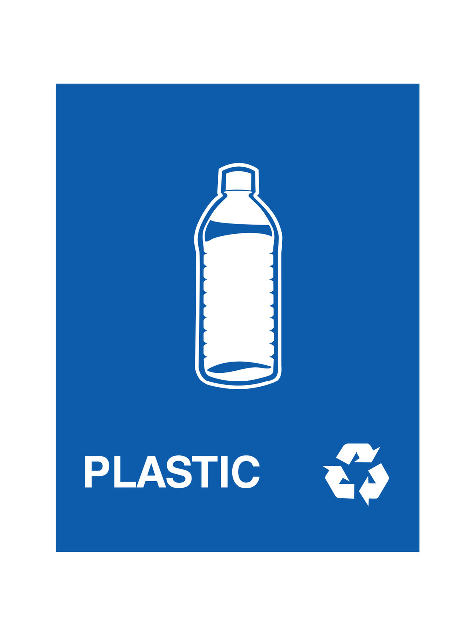 PLASTIC (BLUE)