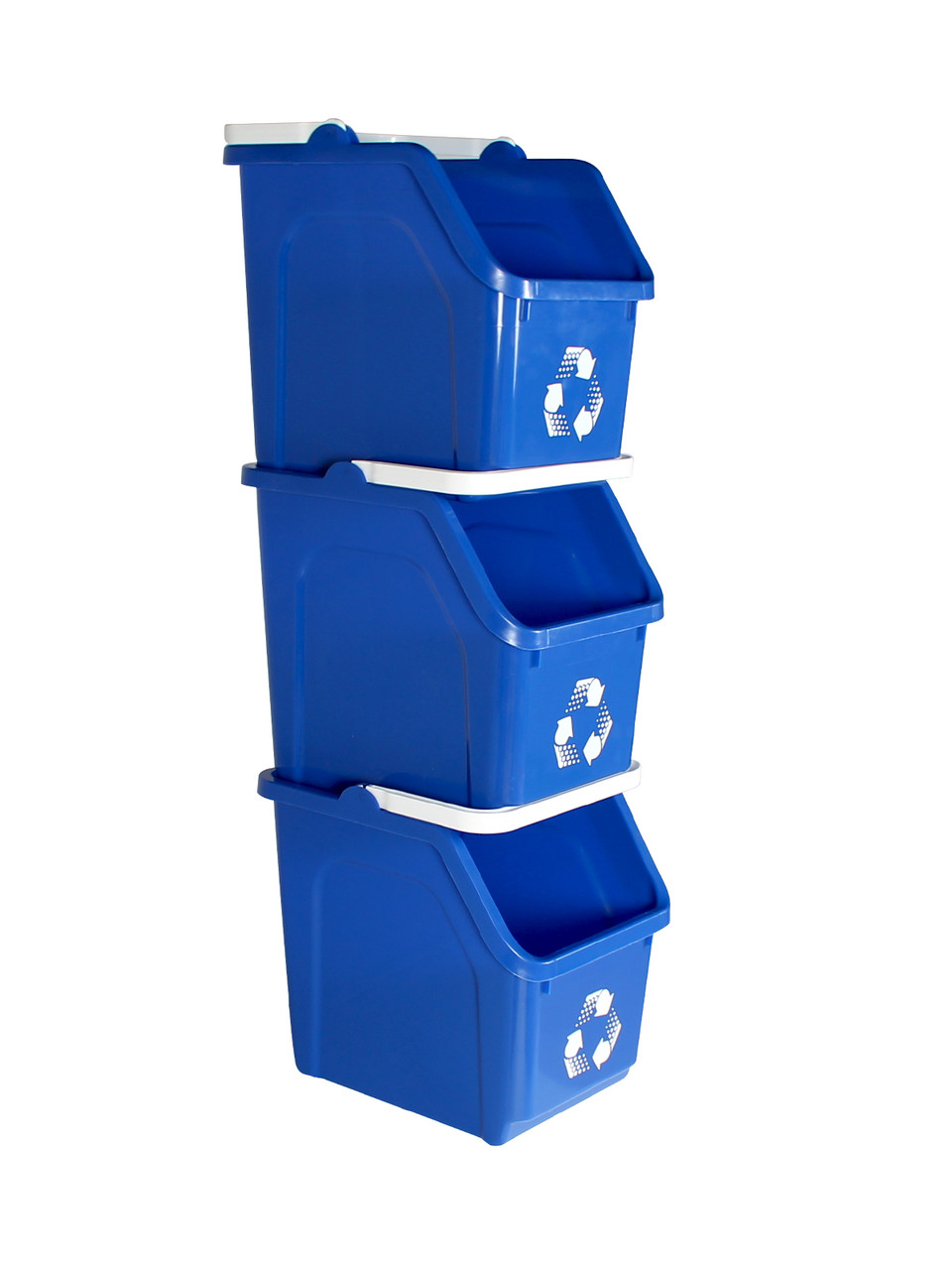 Stackable Multi Recycler 4 Pack (Blue)
