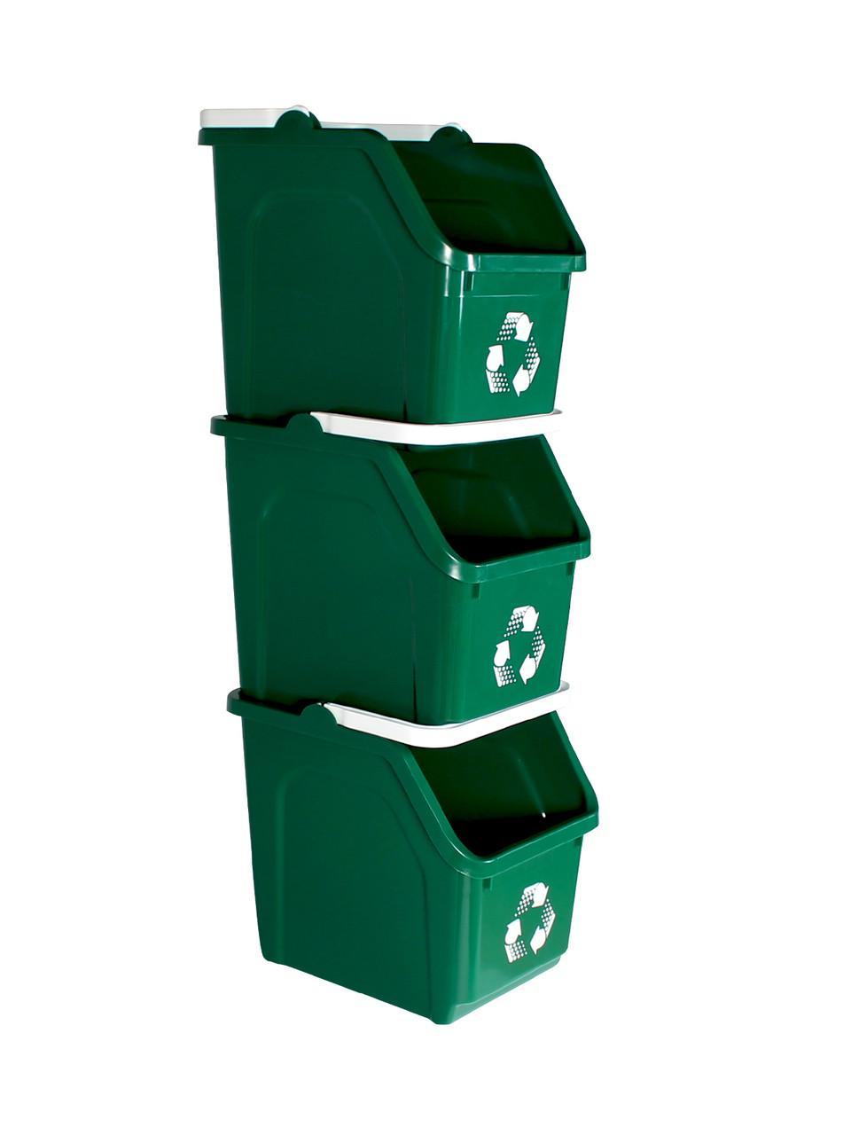 Stackable Multi Recycler 4 Pack (Green)