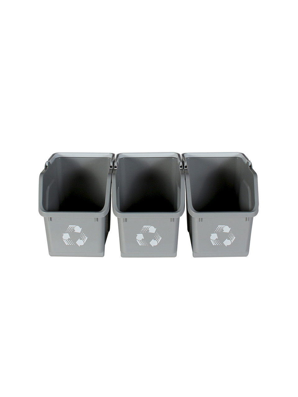 Gray Stackable Multi Recycler (3 Pack)