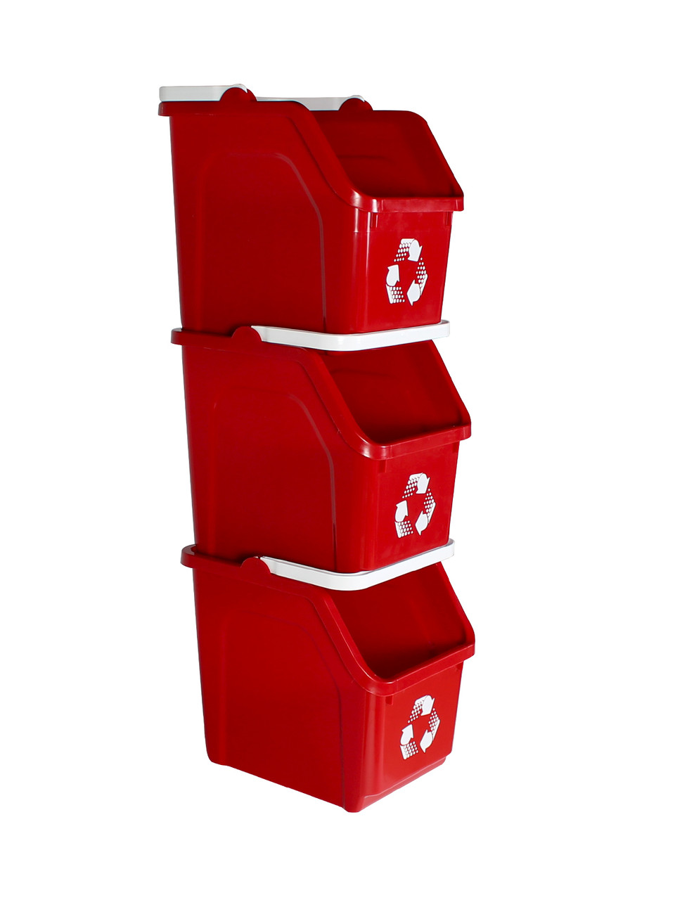 Stackable Multi Recycler 4 Pack (Red)
