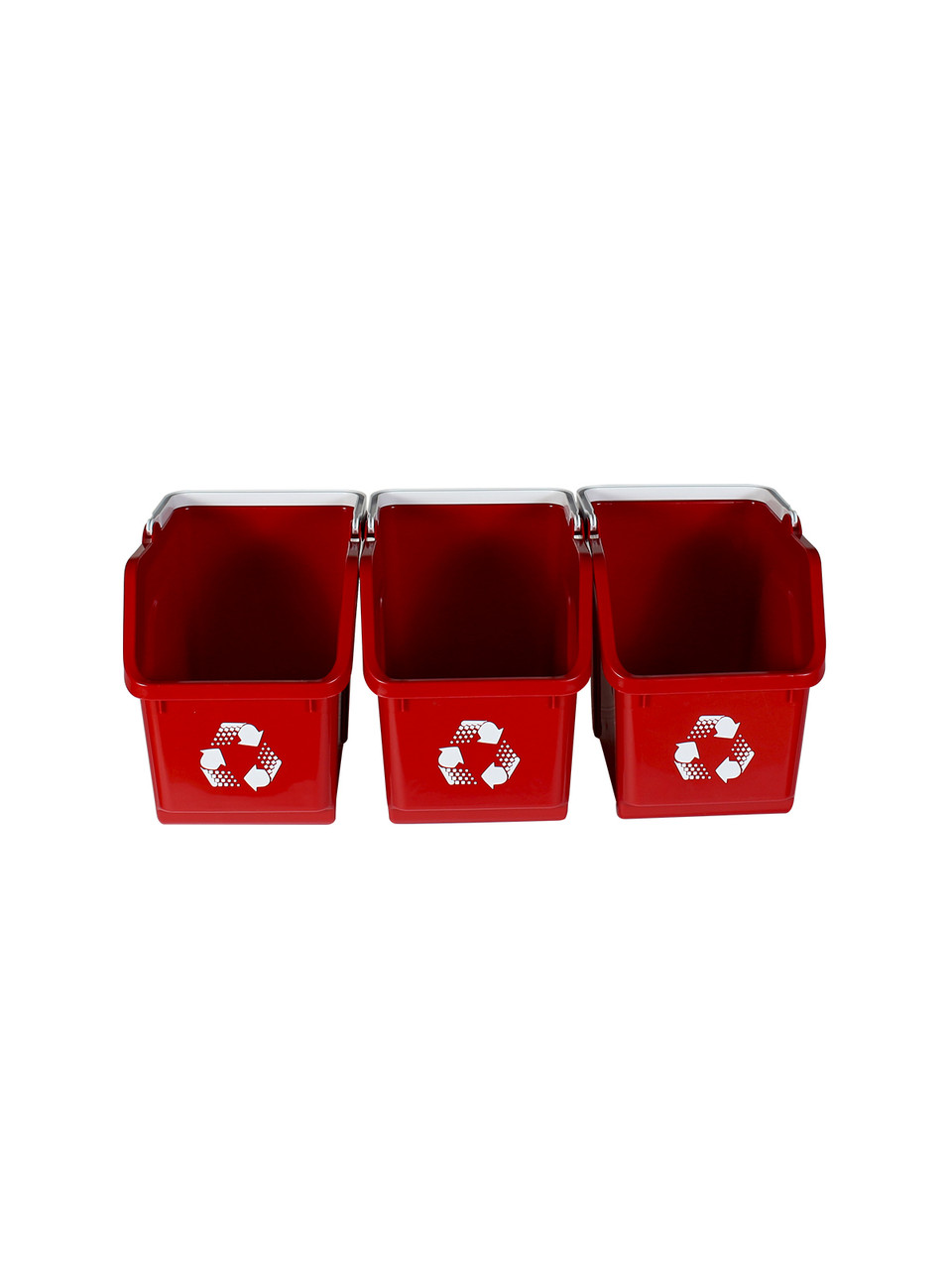 Red Stackable Multi Recycler (3 Pack)