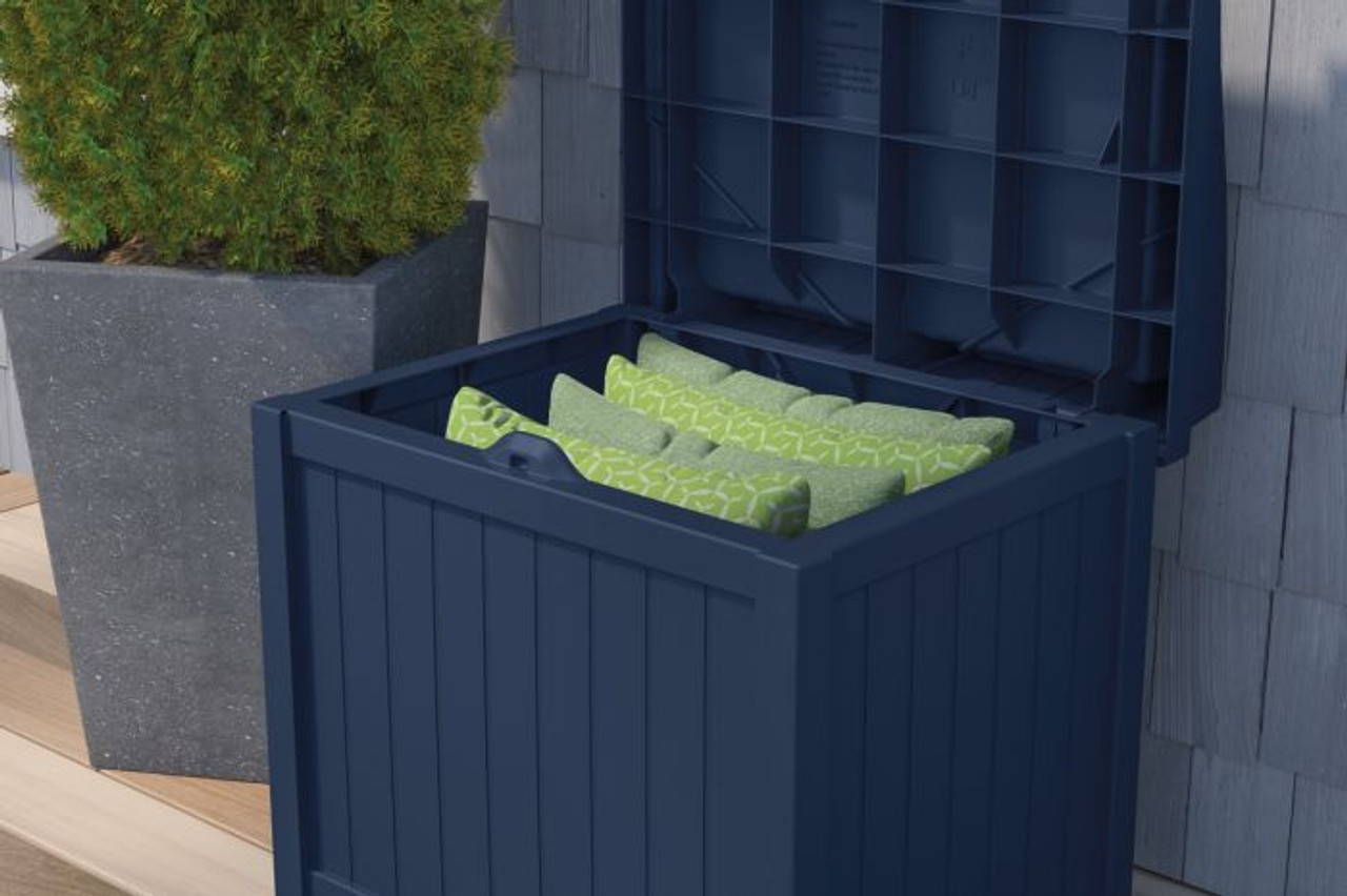 With Stored Seat Cushions