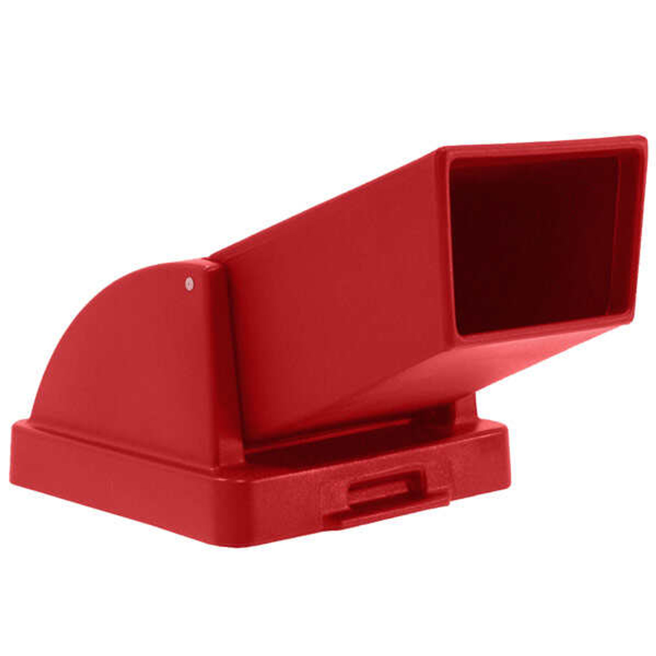 20.5 x 20.5 Drive Up Lid TF1401/TF1416 for Concrete Trash Cans Square (RED)