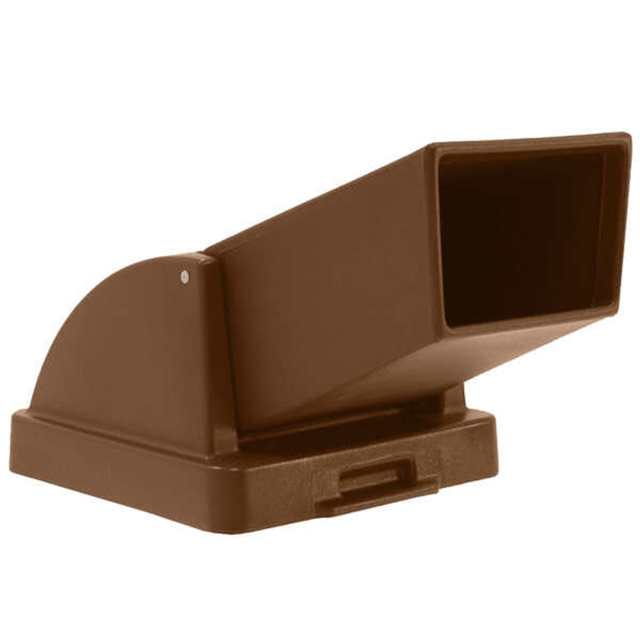 20.5 x 20.5 Drive Up Lid TF1401/TF1416 for Concrete Trash Cans Square (BROWN)